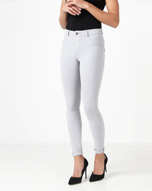 Sissy Boy Sculpt Skinny Jeans Light Grey