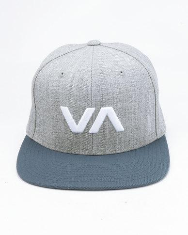 1318cd215 RVCA VA Snapback II Blue