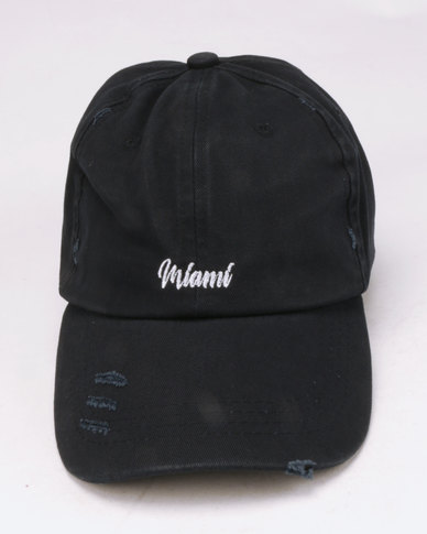 New Look Miami Logo Cap Navy
