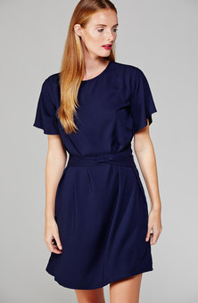 MARETHCOLLEEN April Dress Navy