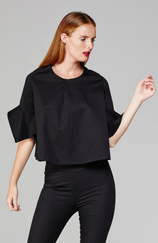 MARETHCOLLEEN Zoe Top Black