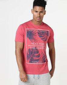 South Shore Head For The Coast T-Shirt Red