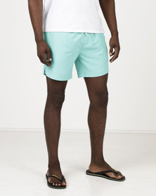 South Shore Graysen Microfiber Twill Swimshorts Turquoise