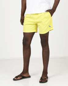 South Shore Graysen Microfiber Twill Swimshorts Yellow