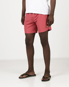 South Shore Graysen Microfiber Twill Swimshorts Red