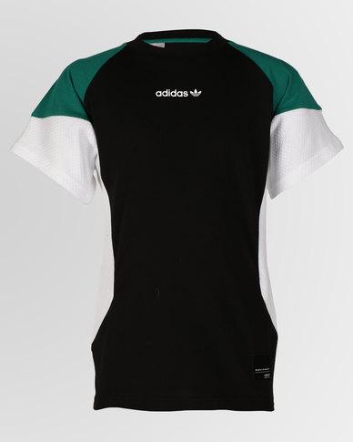 0fe763a61df adidas Originals Boys J EQT Tee Black | Zando
