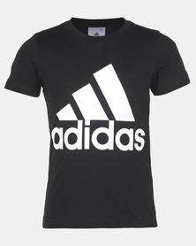 adidas Originals Boys Logo Tee Black