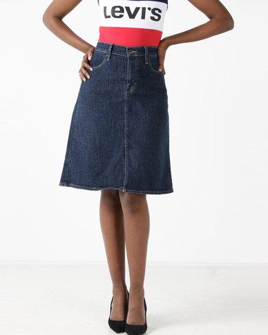 d489c289b3 Levi's ® A-line Midi Skirt Everything Is Indigo | Zando
