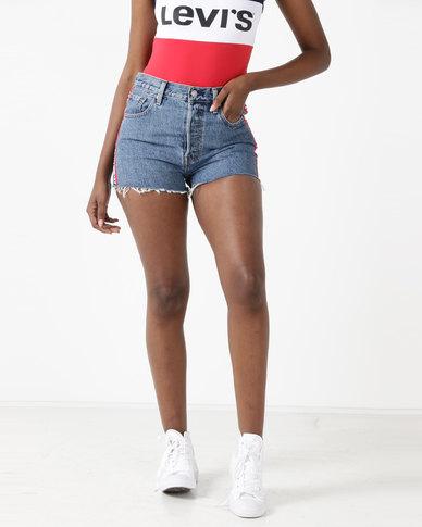 2c3393d786 Levi's ® 501™ High Rise Shorts Spectator Sport | Zando