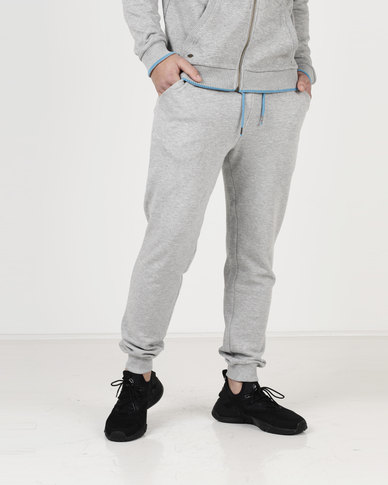 Tokyo Laundry Western Tipped Joggers Grey