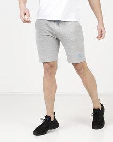 Tokyo Laundry Lawes Tipped Jog Shorts Grey