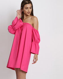 Elmerane du Plessis Original Victoria Dress Pink