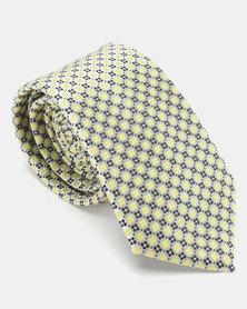 JCrew Design Tie Yellow/Blue