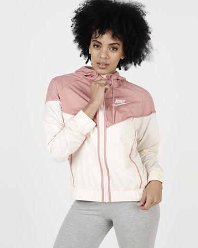Nike Womens NSW WR Jacket Pink