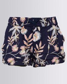 Roxy Girls Young Souls Shorts Blue