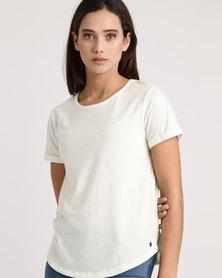 Roxy Love Sun T-Shirt Marshmallow