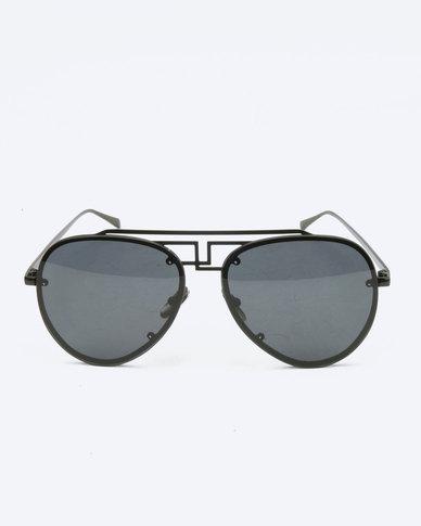 You   I Statement Aviators Sunglasses Black  3d8589a1e7f