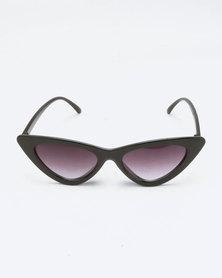 f3ef8b57afe You   I Extreme Cat Eye Sunglasses Black