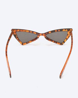 c2663f268f3 You   I Geometric Cat Eye Sunglasses Tortoise Shell