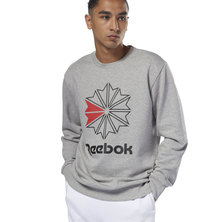 French Terry Big Starcrest Crewneck