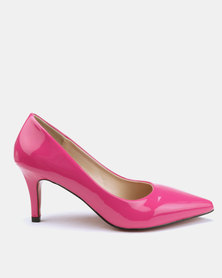 Utopia 7cm Pointy Courts Pink