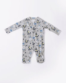 Creative Design Babygrow Grey Bear