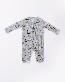 Creative Design Babygrow Grey Bear