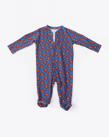 Creative Design Babygrow Superman Blue/Red