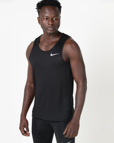 Nike Performance M NK Miler Tank Black