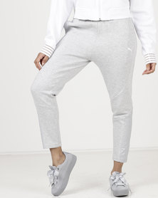 Puma Evostripe Pants Light Gray Heather