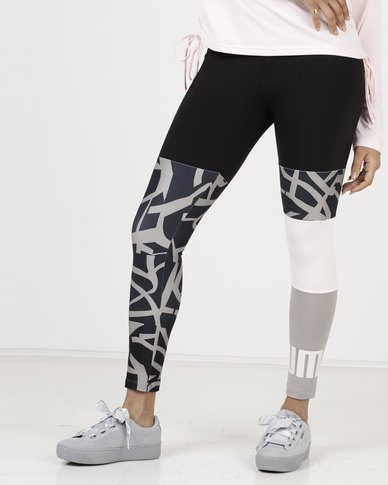 Puma Urban Sports Leggings Rock Ridge