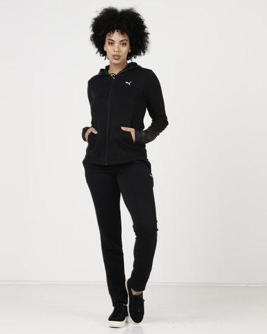 Puma Graphic Sweatsuit CL Cotton Black