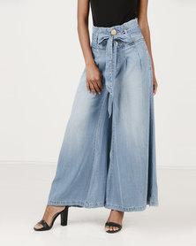 Vero Moda Flared Pants Jeans Light Blue