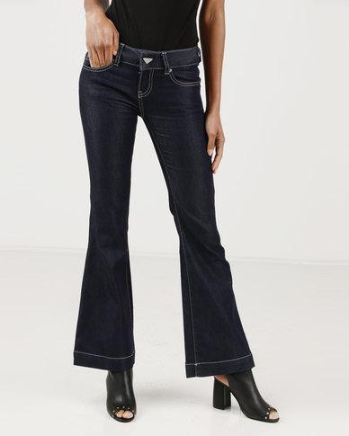 Vero Moda Beat Bootleg Jeans Blue