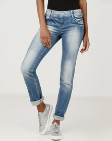 Vero Moda Coral Slim Jeans Light Blue