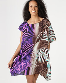 Vero Moda Gadner Kaftan Dress Multi