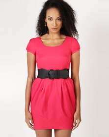 Only Rose Dress Red