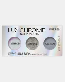 Catrice LuxChrome Nail Powder Kit 01