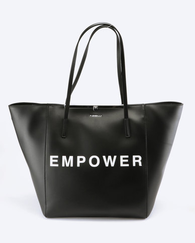 Fiorelli Baylis NS Framed Shopper Empower Black
