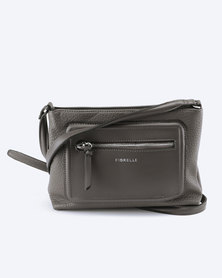 Fiorelli Bella Slim Crossbody Bag Cobble Grey
