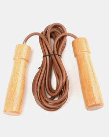 Justsports Skip Rope Faux Leather Tan