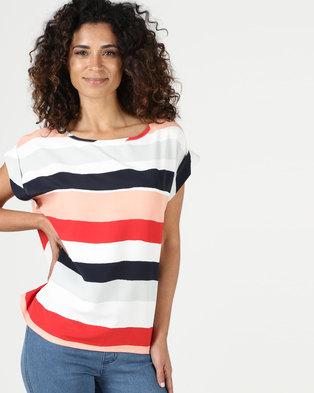42a68a1e6c Assuili William de Faye Striped Top Multi
