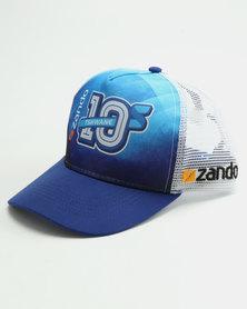 Zando 10s Tshwane Cap White/Blue