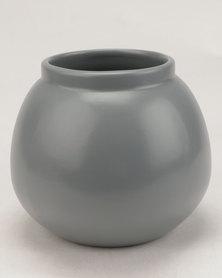 Grey Gardens Vase Grey/Blue