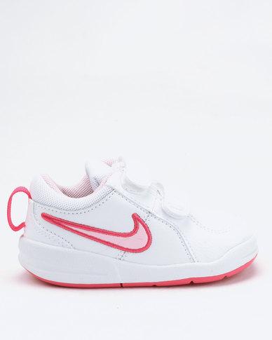 ce02744d2 Nike Girls  Pico 4 (TD) Toddler Shoes White Pink