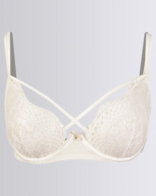 Women'secret Sense Bra Ivory