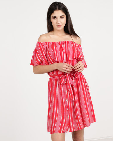 Women'secret Swimwear Dress Red