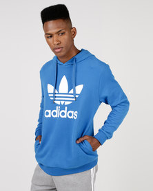 adidas Originals Mens Over The Head Sweat Blue/White