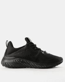 Pierre Cardin Mens 00104 Mono Sneakers Black
