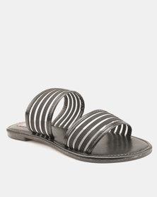 dd3c97bcf878ad Utopia Jelly Thong Sandals Black
